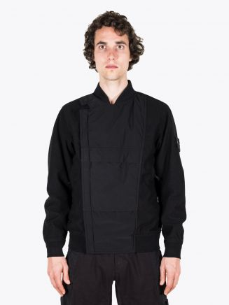 Stone Island 443F1 Ghost Piece Bomber Jacket Black 1