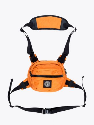 Stone Island 90766 Reflective Bumbag Orange 1
