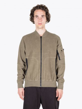 Stone Island Shadow Project 60406 Invert Bomber Jacket Military Green 1