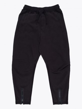 Stone Island Shadow Project 60606 Invert Sweat Pants Black 1