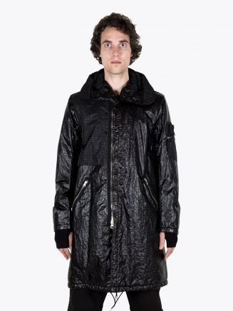 Stone Island Shadow Project 70403 Fishtail Parka Black 1