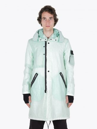 Stone Island Shadow Project 70403 Fishtail Parka Light Green 1