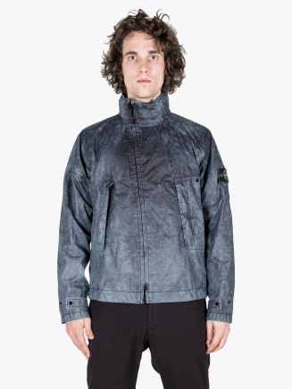 Stone Island 41524 Membrana 3L Dust Colour Finish Jacket Black 1