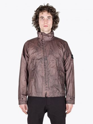 Stone Island 41524 Membrana 3L Dust Colour Finish Jacket Marrone Mogano 1