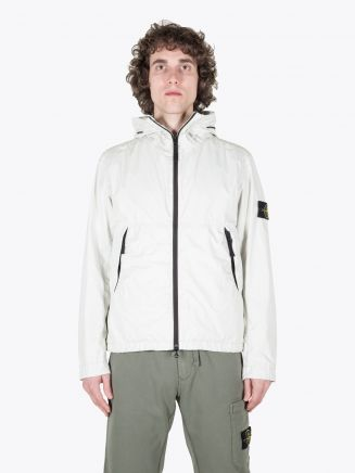 Stone Island 42423 Membrana 3L TC Hooded Jacket Beige 1