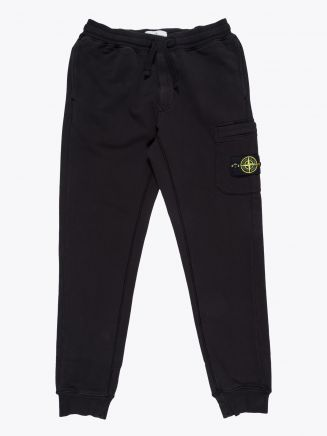 Stone Island 64551 Garment Dyed Cargo Pants Black 1