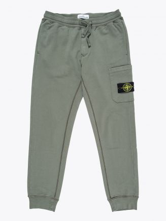 Stone Island 64551 Garment Dyed Cargo Pants Olive Green 1