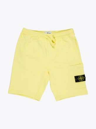 Stone Island 64651 Garment Dyed Bermuda Shorts Lemon