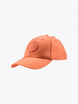 Stone Island 99668 Cap Bright Orange 1