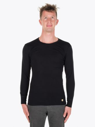 Armor-Lux Long Sleeved T-shirt Heritage Black Full View