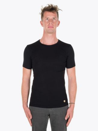 Armor-Lux T-shirt Heritage Black Full View