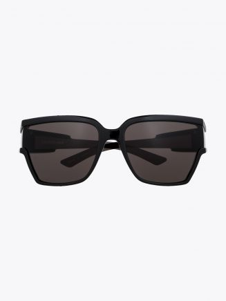 Balenciaga Unlimited D-Frame Sunglasses Black / Black 1
