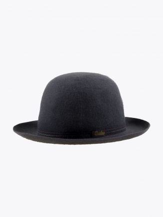 Borsalino Hat Medium-Brimmed Traveller Rabbit-Felt Grey 1