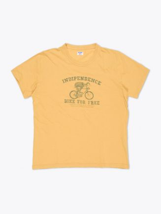 Blue Rey Indipendence T-shirt Ocra Front