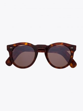 Cutler and Gross 0734/2 Sunglasses Dark Turtle 1