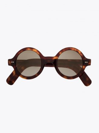 Cutler and Gross 0736 Sunglasses Dark Turtle 01 1
