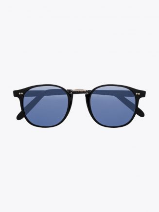 Cutler and Gross 1007 Sunglasses Black Front