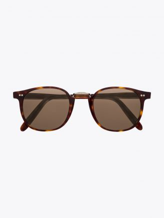 Cutler and Gross 1007 Sunglasses Dark Turtle Front