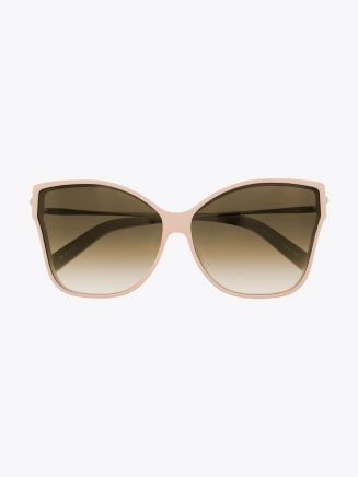 Christian Roth Tripale Sunglasses Matte Pink - Gold 1