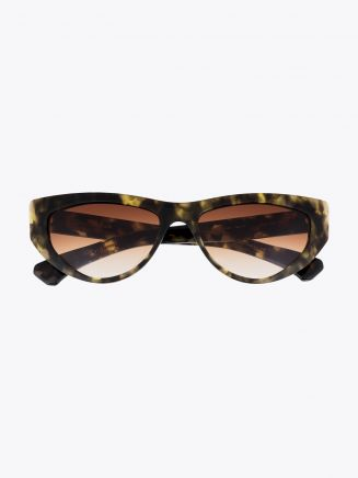 Christian Roth CR-703 Sunglasses Black Yellow Tortoise 1