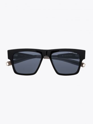 Dita-Lancier LSA-701 Rectangle Sunglasses Black / Black Gun 1