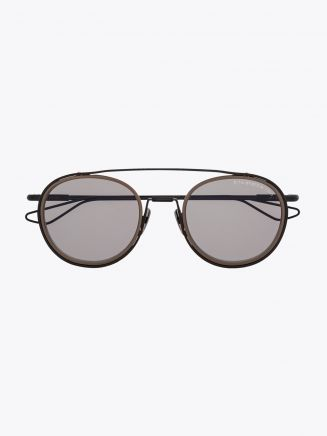 Dita Spacecraft Sunglasses Matte Crystal Grey Front