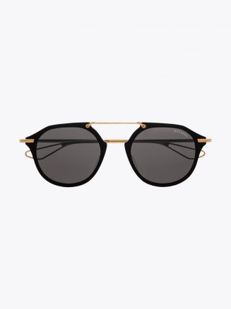 Dita Kohn Round Sunglasses Black Front View
