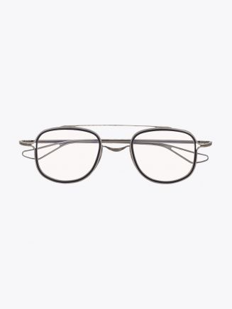 Dita Tessel Optical Glasses Antique Silver – Midnight 1
