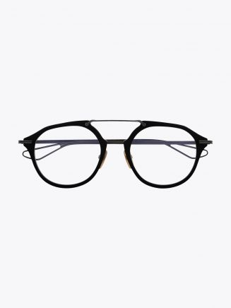 Dita Kohn Optical Glasses Matte Black front frame view
