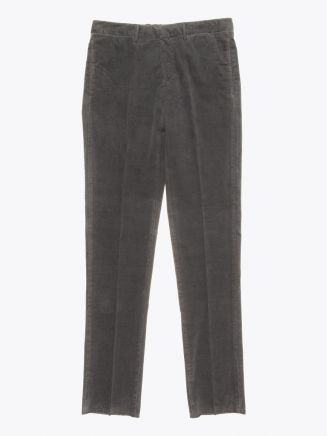 GBS trousers Adriano Cotton Moleskin Grey Front