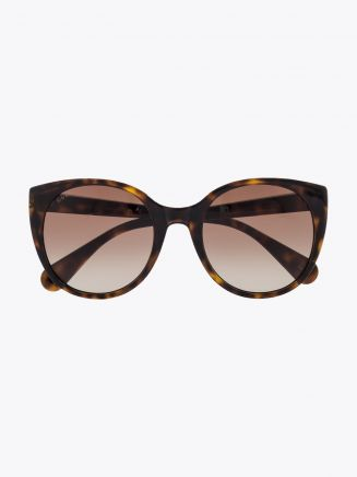 Gucci Cat-Eye Sunglasses Havana / Havana 1