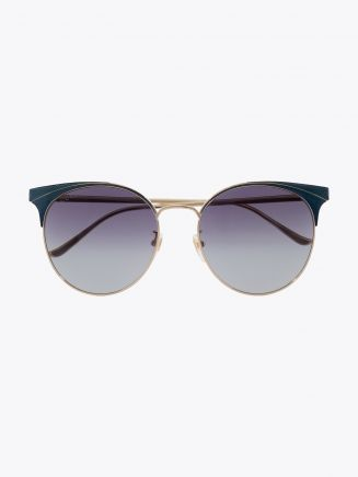 Gucci Cat-Eye Sunglasses Gold / Gold 003 1