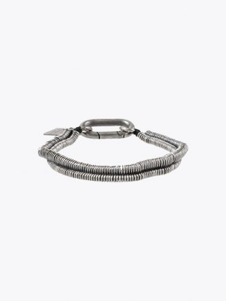 Goti Double Micro Round Plaques Bracelet Sterling Silver 1