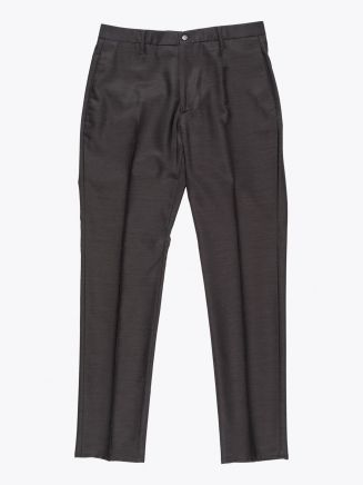 Giab's Archivio David Wool Pants Brown 1