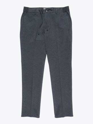 Giab's Archivio Masaccio Slim-Fit Stretch Viscose / Nylon Drawstring Trousers Grey 1