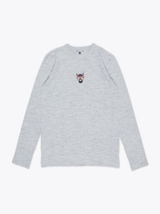 Jupe By Jackie Wapi Long Sleeve T-shirt Grey Front