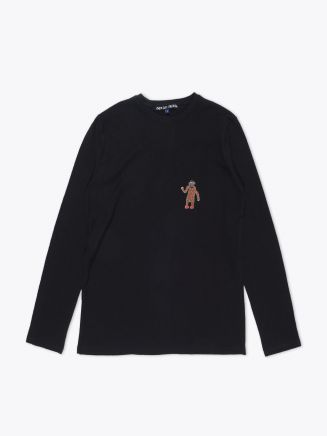 Jupe By Jackie Yaholo Long Sleeve T-shirt Black Front