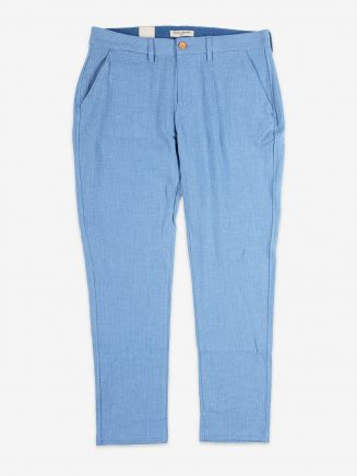 Levi's Made & Crafted Slim Chino Indigo Waffle Female Front