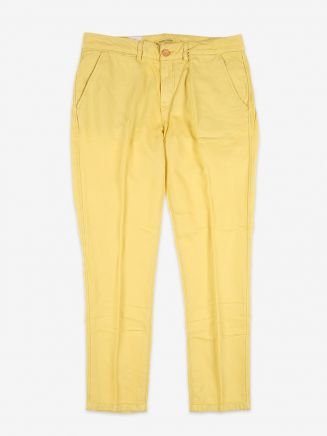 Levi's Made & Crafted Slim Chino Ochre Female Front