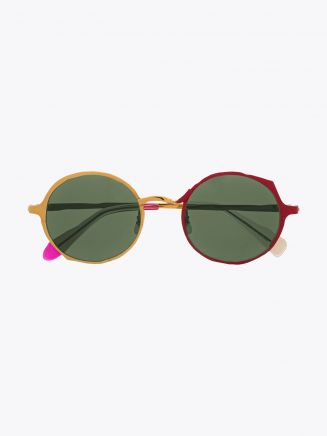 Masahiromaruyama Twist MM-0038 No.4 Sunglasses Gold / Red 1
