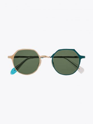 Masahiromaruyama Twist MM-0039 No.4 Sunglasses Gold / Green 1
