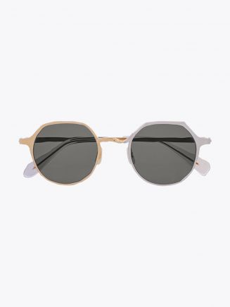 Masahiromaruyama Twist MM-0039 No.5 Sunglasses Gold / Silver 1