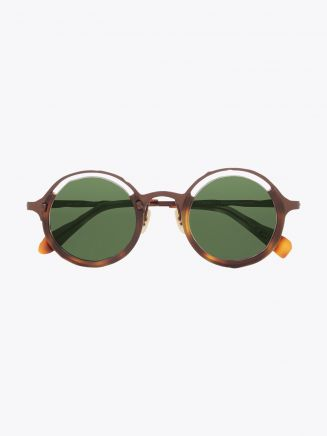 Masahiromaruyama Monocle MM-0053 No.2 Sunglasses Havana / Brown Front View
