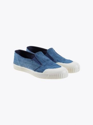 Novesta Slip-On Rec Jeans Dark Three-Quarter Front