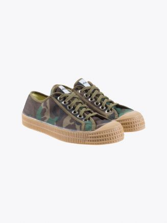 Novesta Star Master Green Camo Side Three-Quarters Front