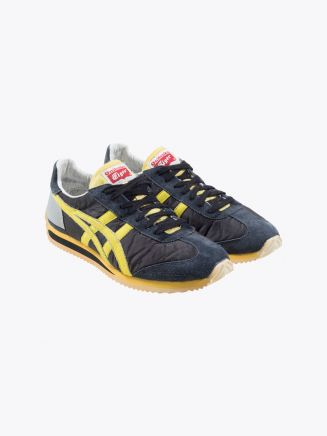 Tiger California 78 OG VIN Sneakers Black/Blazing Yellow Front Three-quarters