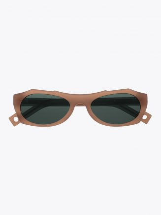 Pawaka Enambelas 16 Cat-Eye Sunglasses Almond Front View