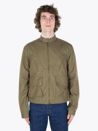 Pedaled Urban Riders Jacket Green Full View