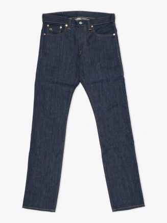 Double RL Slim-Fit Rigid Denim Front