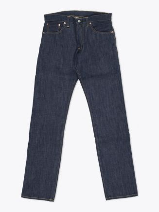 Double RL Low Straight Rigid Denim Front